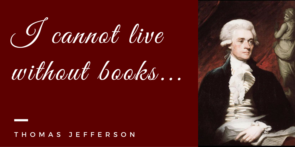 Cannot live without books