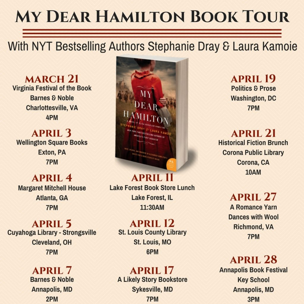 Historical Sites And Other Fine Hosts For Our Upcoming National Tour The Release Of My Dear Hamilton More Information Visit Events Page